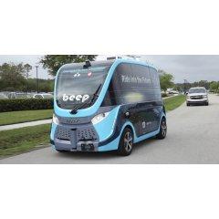 Автономные автомобили перевозят образцы с тестами на коронавирус