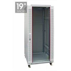 Шкаф настенный, 42U 600x800mm СТЕКЛО (неукомплектованный)