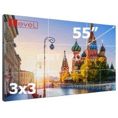 """Видеостена LCD FP-3x3 55"""" диагональ"""