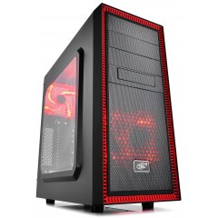 Кейс DeepCool TESSERACT SW-RD Red-Black