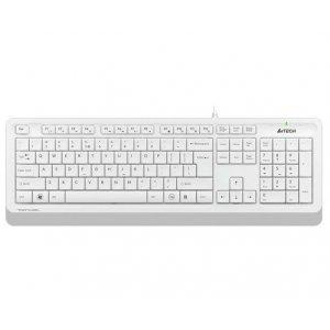 A4Tech FK10 USB Проводная клавиатура White/Grey