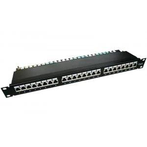 Патч-панель, Patch panel 24 port FTP Cat 5e