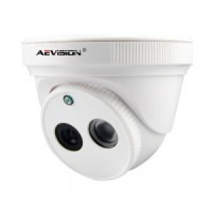IP Купольная камера, AE-1B01-0103-VP (720P Dome camera with built-in POE)