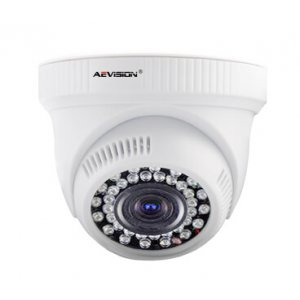 Купольная IP камера, AE-13B02B-0102-VP (720P 1.0Mp Dome Camera With POE)