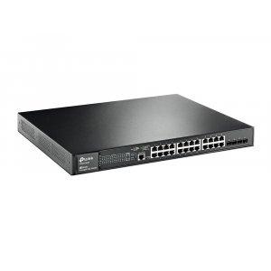 Коммутатор TP-Link T2600-28MPS (TL-SG3424P) 24-портовый (Switch)