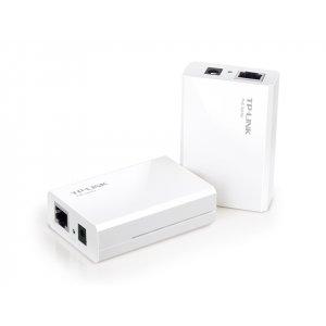 Инжекторный адаптер PoE TP-Link TL-PoE200 (PoE-инжектор-сплиттер)