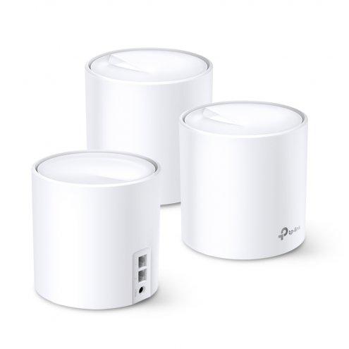 TP-Link Deco X60 (3-pack)/AX3000 Усилитель Wi-Fi сигнала, Точка доступа