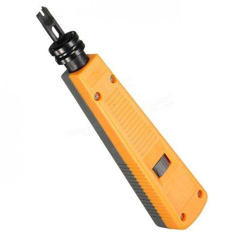 Инструмент для заделки кабеля и разъемов, Punch down tool, DL-110KR