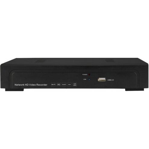 Видеорегистратор, AE-N6100-16EH (1U 1HDD 16ch NVR)