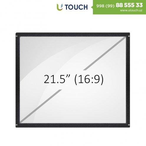Инфракрасная сенсорная рамка со стеклом, 21.5-дюймов (4 касаний) (16-9)