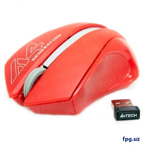 A4-Tech G3-310N USB Беспроводная мышка (Smooky Red)