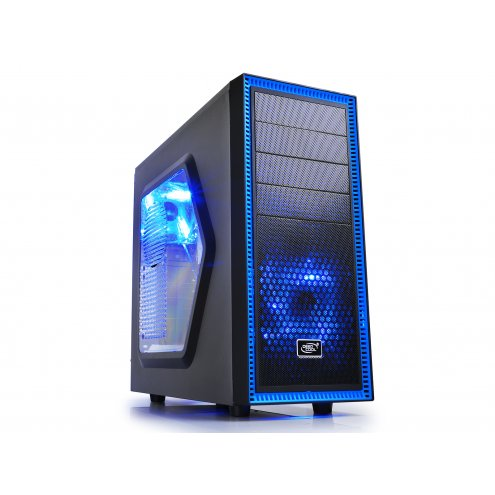 Кейс DeepCool TESSERACT SW Black