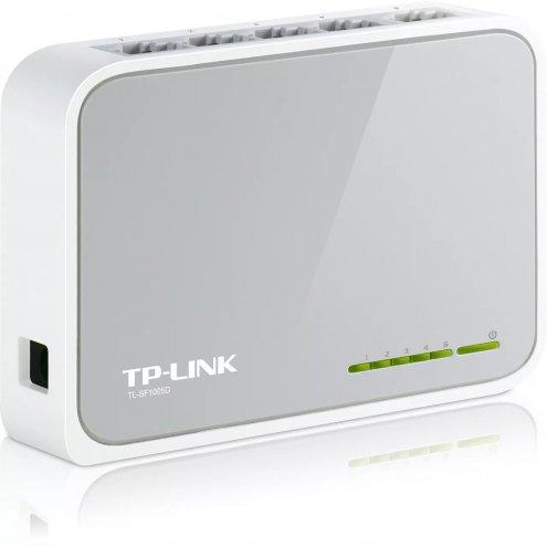Мини коммутатор TP-Link TL-SF1005D 5-портов (Switch)