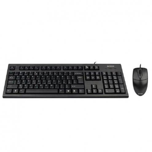 A4-Tech KR-8520D USB Проводной комплект клавиатуры и мыши