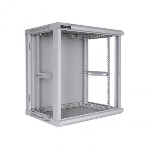 Шкаф настенный, 22U 600*600mm СТЕКЛО (неукомплектованный)